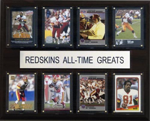 (NFL Washington Redskins All-Time Greats Plaque)