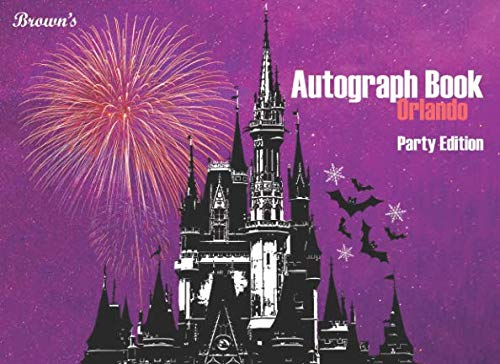 Brown's Autograph Book Orlando: Party Edition by Independently published