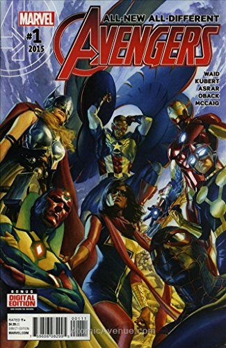 Man Marvel Comic Book - All-New, All-Different Avengers #1 VF/NM ; Marvel comic book