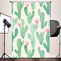 HUAYI 5x7ft Cactus Background Floral Photography Baby Backdrop for pictures Newborn Photo Props Baby Studio Props Photographer YJ-303