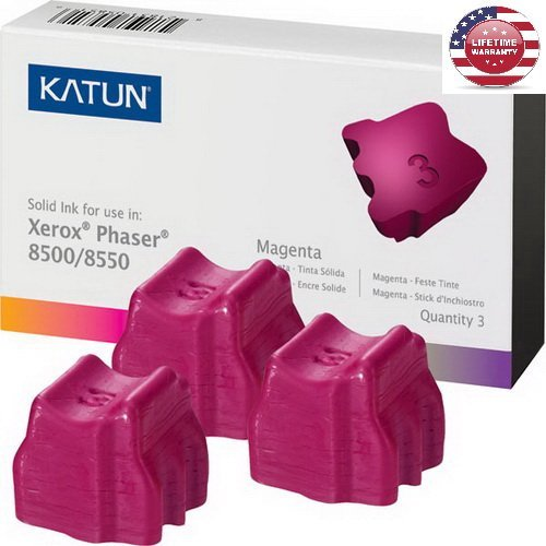 1 Pack X Compatible Xerox 108R00670 Solid Ink Sticks – Magenta – 3,000 Yield – 3 Pack - By ()