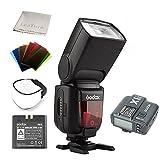 Godox Ving V860II-N I-TTL Li-ion Flash and X1T-N Trigger, Speedlite for Nikon Cameras D800 D700 D7100 D7000 D5200 D5100 D5000 D300 D300S D3200 D3100 D3000 D200 D70S D810 D610 D90 D750 ( V860IIN+X1TN )