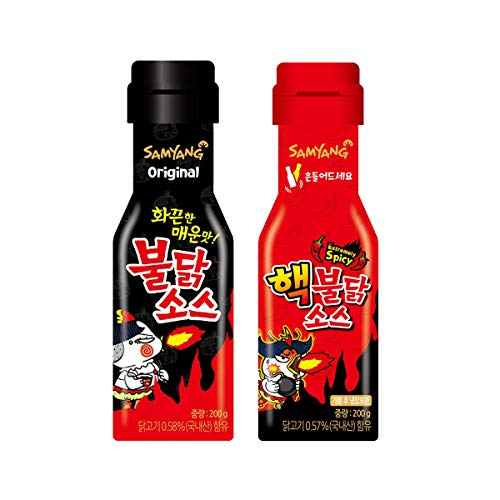 [Samyang] Hack Bulldark Spicy Chicken Roasted Sauce + Bulldark Spicy Chicken Roasted Sauce 2 sets / Fire Noodle Challenge (overseas direct shipment)