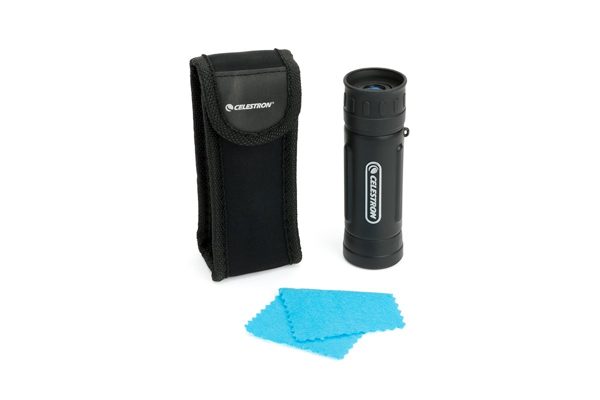 Celestron UpClose G2 10x25 Roof - Monocular (10 x 25 mm), negro