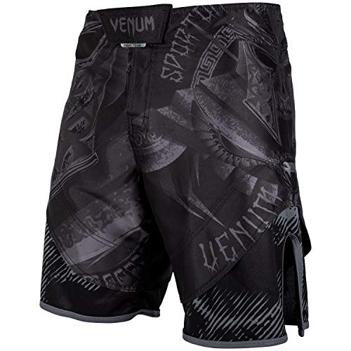 Venum Gladiator 3.0 Fightshorts - Black/Black-M, Black/Black, Medium