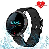 Fitness Tracker/Smart Bracelet with Color Screen,Activity Tracker with Heart Rate Monitor Wireless Waterproof IP67 Smart Wristband With Step Tracker Sleep Monitor For IOS and Android Smartphone