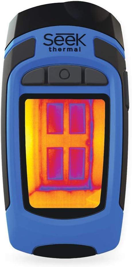 Opinión sobre Seek Thermal RW-AAA Reveal - Cámara portátil de imagen térmica con linterna, colores negro y azul