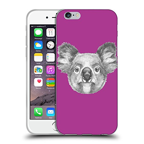 GoGoMobile Coque de Protection TPU Silicone Case pour // Q05150621 Dessin koala byzantin // Apple iPhone 7
