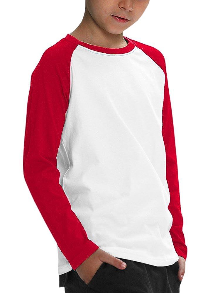 c83999410ce JOYCHEER Boys  Baseball Jersey Tee Girls  Raglan T Shirts Unisex Baby Long  Sleeve Tops  Amazon.ca  Clothing   Accessories