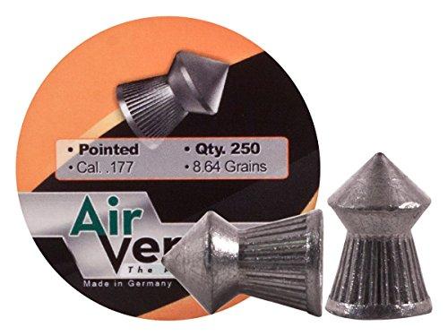 Air Venturi Pellets.177 Cal, 8.64 Grains, Pointed, 250ct