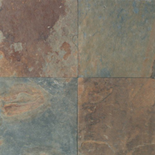 Natural Stone Collection Mongolian Spring 12 in. x 12 in. Slate Floor and Wall Tile (10 sq. ft. / case) - Daltile Natural Stone