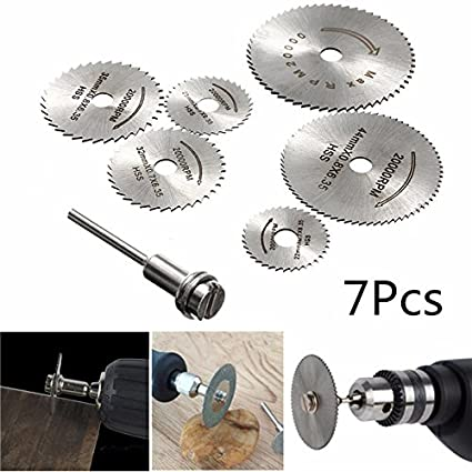 Best to Buy New 7pcs Circular Wood Cutting Saw Blade Discs