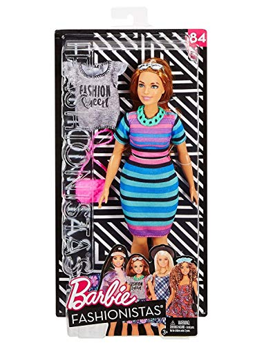 (Barbie FJD06 Fashionista Deluxe Dolls Assorted )