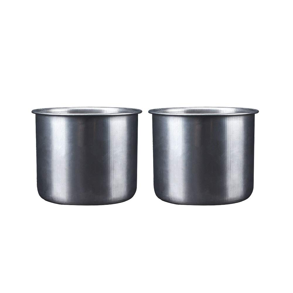 XINGZHE Stainless Steel Buckets and Food Barrels, Bird Water Cups, feeders, There are Two Styles to Choose from, Special Models and Stand-Specific Models, Cost-Effective Dog Water Bottle (Size : D) by XINGZHE