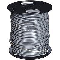Carol E1032S.18.10 2 Sound, Alarm and Security Cable, Multi-Conductor, Unshielded, Riser, Gray Premium-Grade, Gray PVC, 500