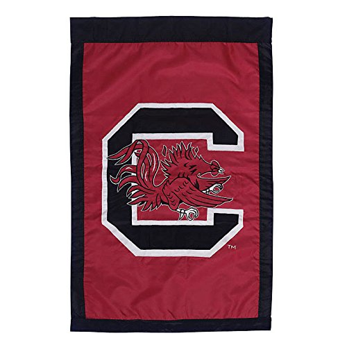 University of South Carolina - 28'' x 44'' Double Sided Appliqued NCAA Banner