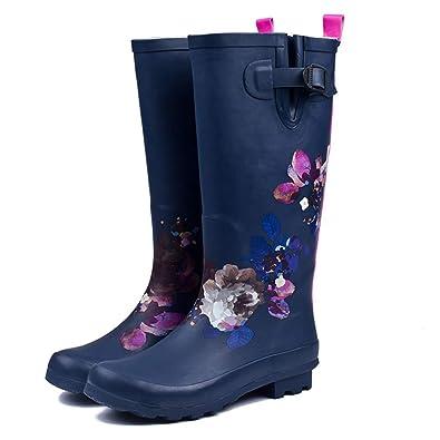 A Women s Garden Shoes Long Boots Waterproof Rubber Boots rain Boots  20887702ec