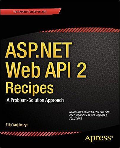 Livres en allemand téléchargement gratuit ASP.NET Web API 2 Recipes: A Problem-Solution Approach B00DREFXPI iBook by Filip Wojcieszyn