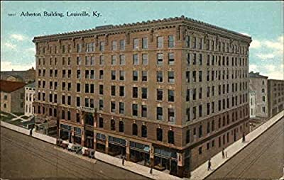 Atherton Building Louisville, Kentucky Original Vintage Postcard