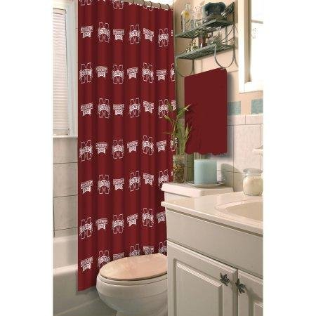The Northwest Company NCAA Mississippi State Bulldogs Shower Curtain - Mississippi State Shower Curtain