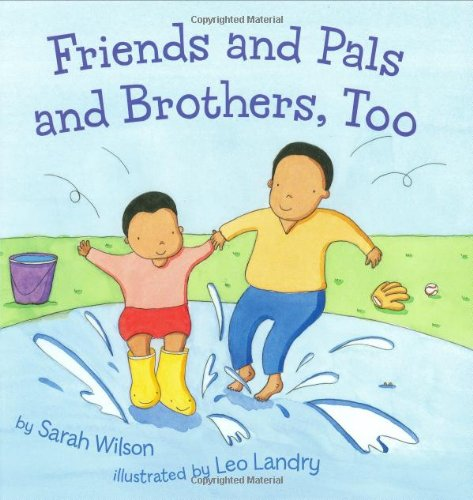 Friends and Pals and Brothers, Too pdf epub
