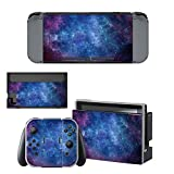 SKINOWN Vinyl Cover Decals Skin Sticker for Nintendo Switch – Galaxy Nebular For Sale