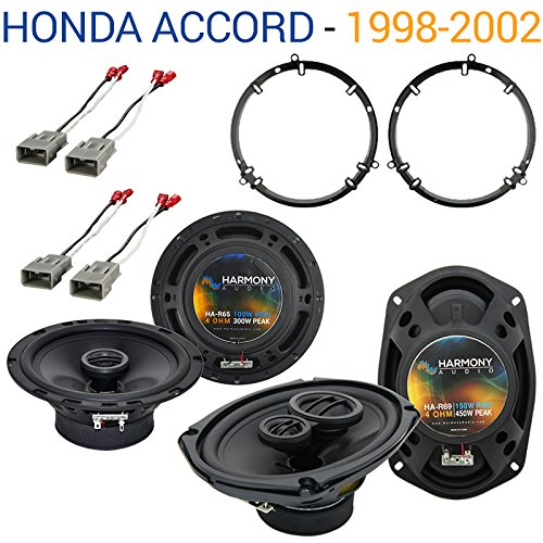 Compatible with Honda Accord 1998-2002 Factory Speaker Replacement Harmony R65 R69 Package
