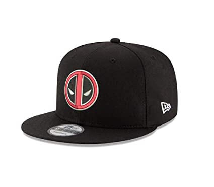 efbf9e4de New Era Deadpool Logo Marvel 9FIFTY Snapback Cap Hat Headwear Black