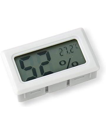 Ogquaton 1 UNIDS Termómetro Electrónico Higrómetro Mini LCD Medidor de Humedad de Temperatura Interior Digital para