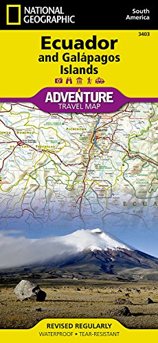 Ecuador and Galapagos Islands (National Geographic Adventure Map)