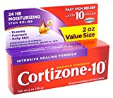 Product review for Cortizone-10 Intensive-Healing Formula 2 Ounce (Boxed) (59ml) (3 Pack)