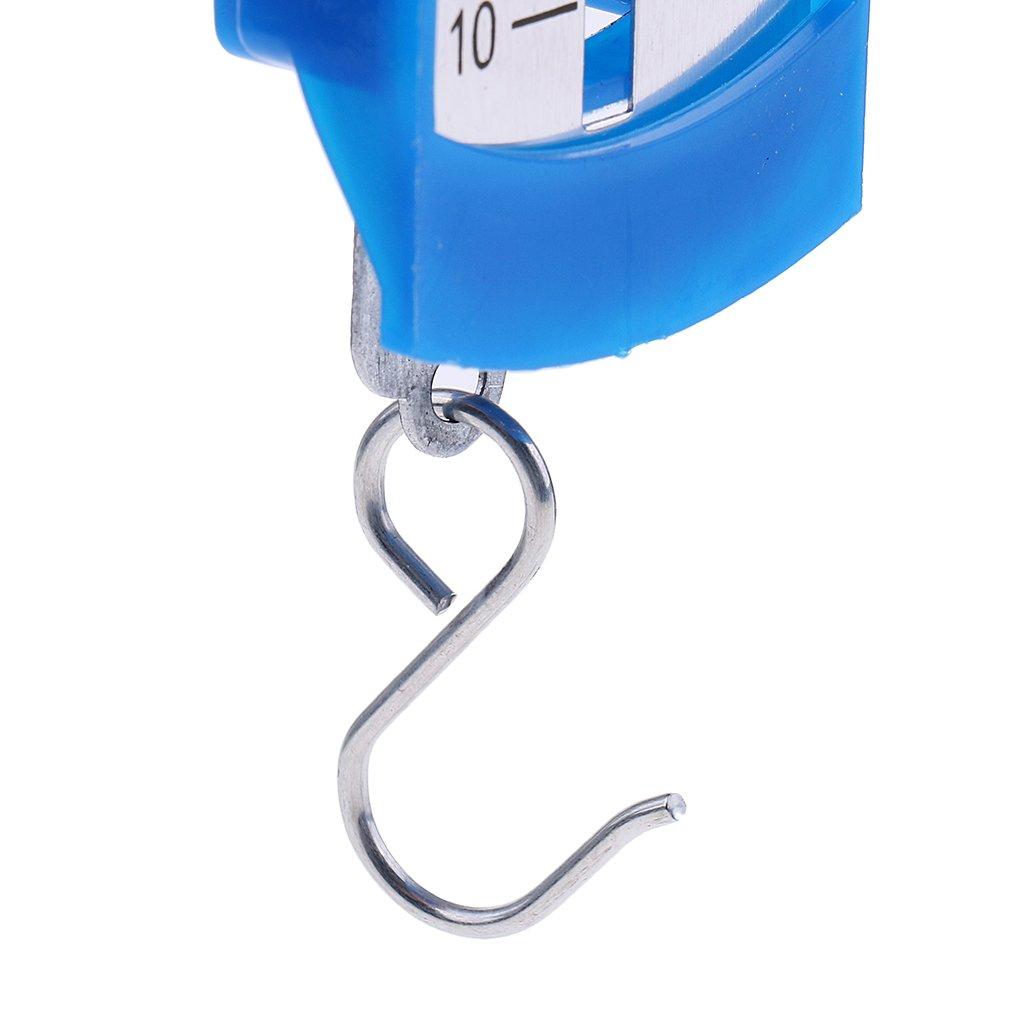 2 Pcs Forza Newton Meter Dynamometer Misuratore Spring Balance Plastica Ferro Blu