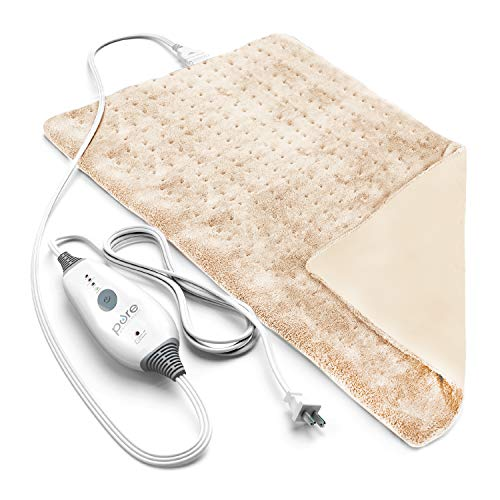Pure Enrichment PureRelief Deluxe Heating Pad - Fast-Heating