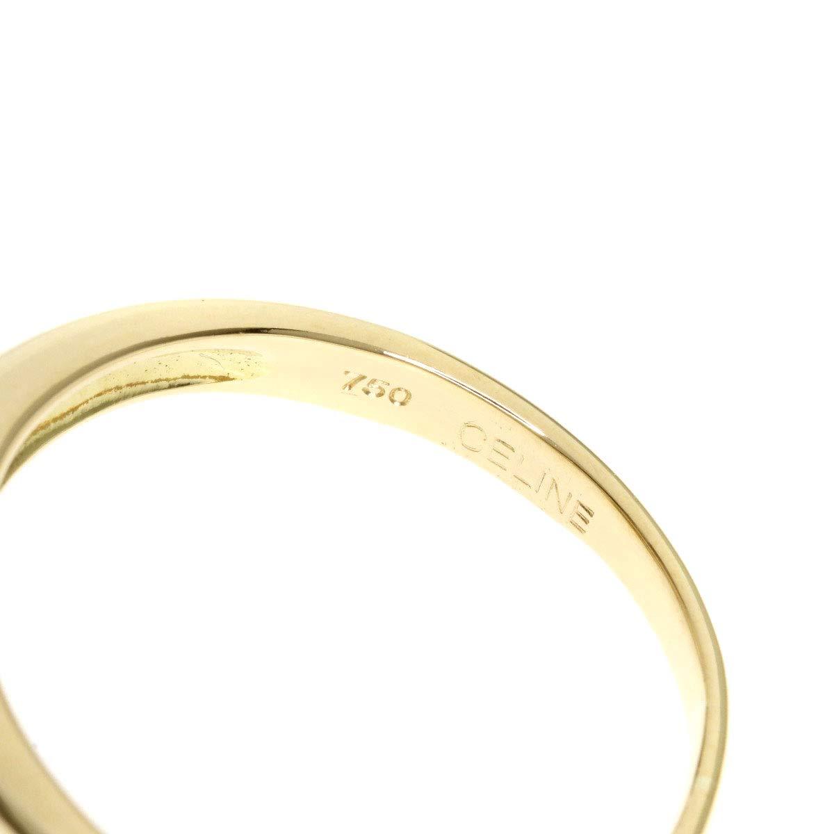 ce5ae5a4cb Amazon   [セリーヌ]凱旋門 リング・指輪 K18イエローゴールド レディース (中古)   リング 通販