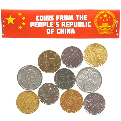 China Asia Old Collectible Coins Chinese Fen, Jiao ()