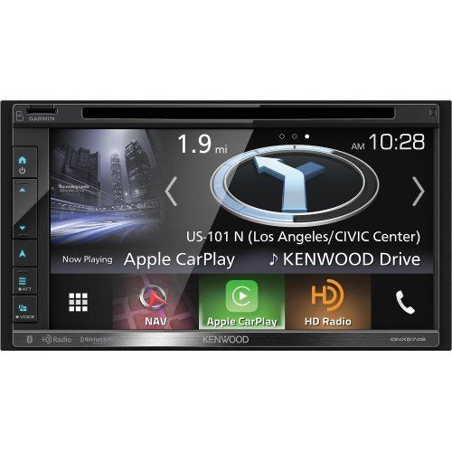 Kenwood 019048221704 DNX575S in-Dash Multimedia Receiver with Navigation (Stereo Car Camera Kenwood)