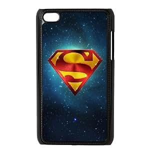 Superman & Galaxy Ipod Touch 4 Case, Ipod Touch 4g Case Hard Anti-Slip Yearinspace - Black