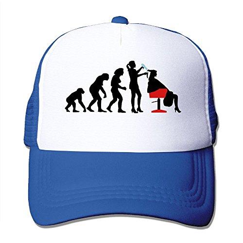 MarthaStill Evolution Women Hairdresser Hairstylist Mesh Mens Tactical Trucker Baseball Hat