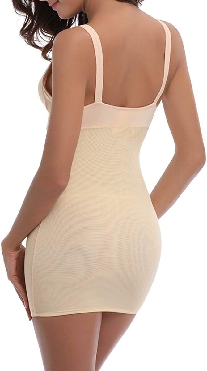 FUT/_Forever Women Slimming Full Slip for Under Dresses Full Body Shaping Control Slip