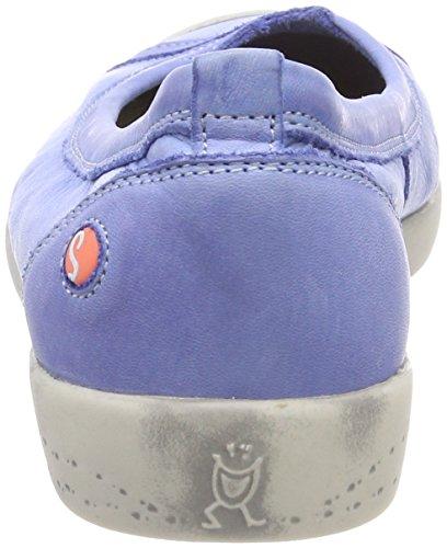 Blue Blau Bailarinas Cerrada Con Ilma Mujer Washed Softinos Punta Para lavender vCUq8w