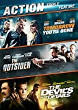 Action Movie Triple Feature (Outsider, Tomorrow You're Gone, Devil's In the Details