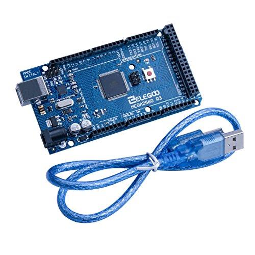 Elegoo MEGA 2560 R3 Board ATmega2560 ATMEGA16U2 + USB Cable Compatible With Arduino
