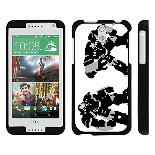 HTC Desire 610 Phone Case, Perfect Fit Snap on Cell Phone Case Superhero Design Series for HTC Desire 610 and 612 by Miniturtle® - Big Iron Man - Htc Desire 610 Super Hero Case