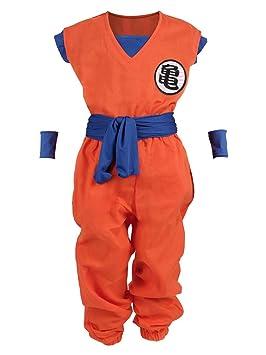 CoolChange Disfraz para niños de La Bola del dragón, Traje de Entrenamiento del Genio de Las Tortugas, tamaño 130