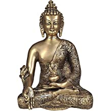 Th Medicine Buddha - Brass Statue