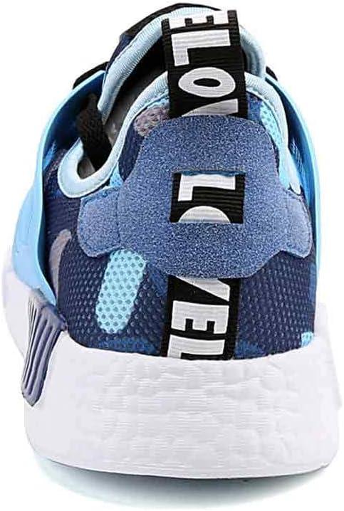 Heren Road hardloopschoenen Mannelijke Sport Trainers Casual Mesh Atletische Sneakers Gym Fitness Wandelen Blauw
