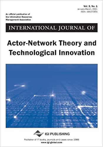 Download ebooks for ipad free International Journal of Actor-Network Theory and Technological Innovation by Arthur Tatnall PDF CHM