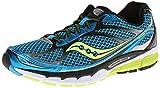 Saucony Men's Ride 7 Running Shoe,Blue/Black/Citron,11 M US