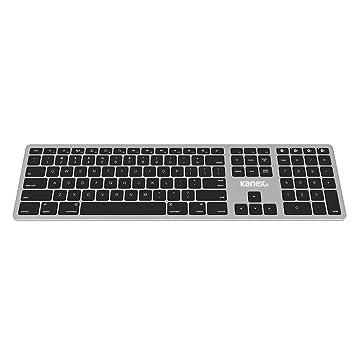 Kanex K166-1102 - Teclado inalámbrico de tamaño Completo Bluetooth para Mac y iOS,