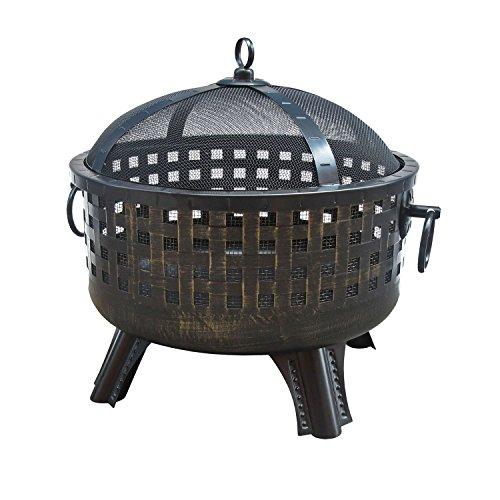 Landmann USA Garden Lights Savannah Firebowl - Antique Bronze